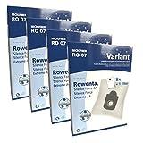 20 Staubsaugerbeutel Variant RO07, kompatibel mit...