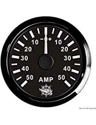 Ampèremètre avec shunt 50 A noir/noir