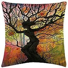 lumimi Colorful Daphne terciopelo decorativo funda de almohada