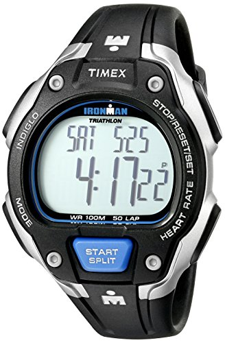 Timex Men's Ironman Road Trainer Heart Rate Monitor (Timex Trainer Ironman)