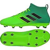 adidas Unisex-Kinder Ace 17.3 Fg J für für Fußballtrainingsschuhe, Grün (Versol/Negbas/verbas), 36 EU