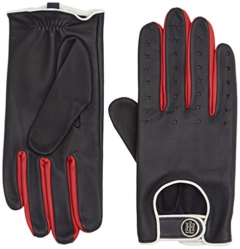 Tommy Hilfiger Biker Leather Gloves, Guantes para Mujer