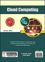 CLOUD COMPUTING for BE Anna University R17 CBCS (VII - CSE /IT- CS8791)
