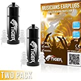 Best Earplugs For Musicians - Tiger Professional Musician's Filter Earplugs - Hearing Protection Review
