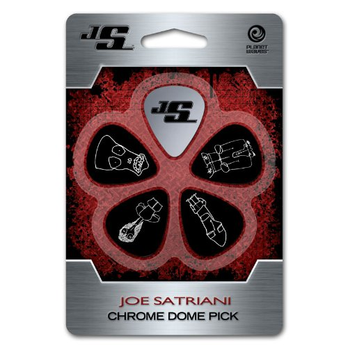 D'Addario JSCD-01 Plettro Planet Waves Joe Satriani Chrome Dome