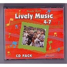 Lively Music 4-7 CD Pack