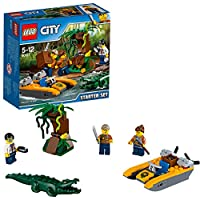 "LEGO UK 60157"" Jungle Starter Set Construction Toy, Various"