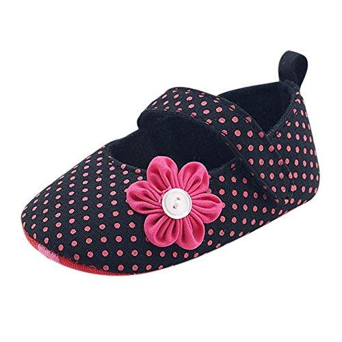 Hankyky Baby Kind M盲dchen Junge Anti Skid Weiche Sohle Lauflernschuhe Sneaker Krippeschuhe Kleinkind Schuhe (0 ~ 18 Monate) B