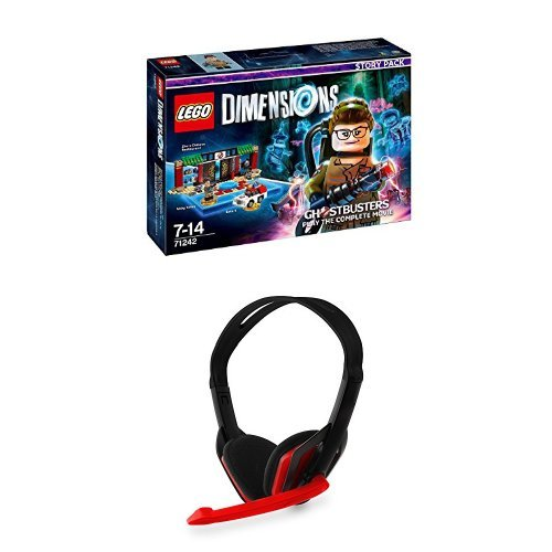 LEGO Dimensions: Ghostbusters Story Pack with a Stealth XP50 Multi Format Lightweight Stereo Headset