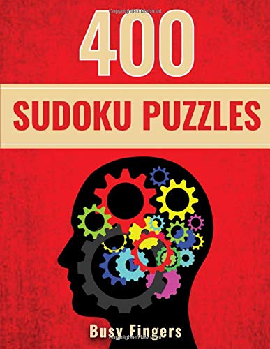 400 Sudoku Puzzles: Easy Medium Hard Large Print Sudoku Puzzle Books for Adults, Brain Teaser Puzzles for Adults