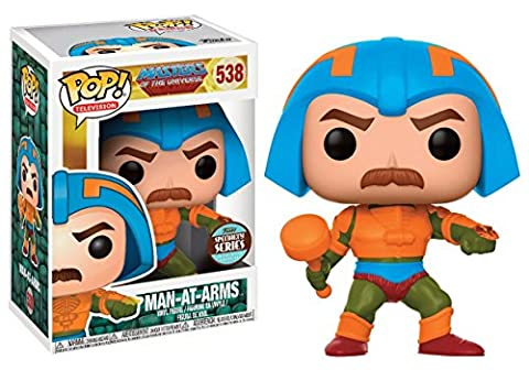 Funko - Figurine Master Of The Universe - Man At Arms Speciality Month Exclu Pop 10cm - 0889698143288