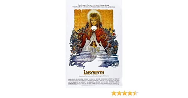 WALL DECOR ART PRINT POSTER A3 Size Labyrinth David Bowie Movie  GIFT