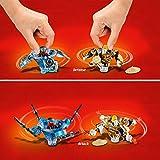 LEGO NINJAGO - Toupies Spinjitzu Nya & Wu - 70663 - Jeu de construction