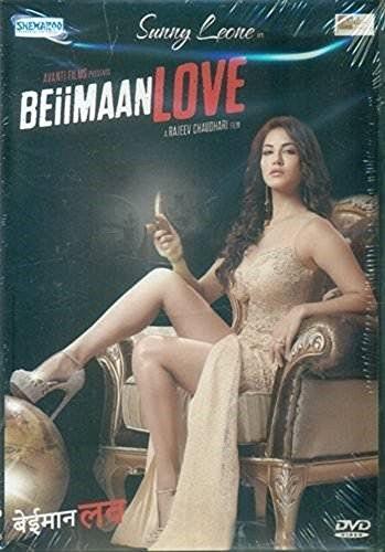 BEIIMAAN LOVE Film ~ DVD ~ Bollywood ~ Sunny Leone ~ Hindi mit englischem Untertitel ~ India ~ 2018 ~ Original SHEMAROO DVD ~ verkauf nur über Bollywood 24/7
