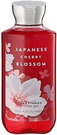 Bath & Body Works Japanese Cherry Blossom Shea & Vitamin E Shower Gel, Dark Pink, 295 ml