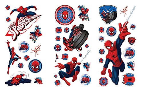40-stickers-spiderman-repositionnables