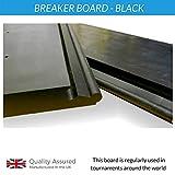 PnP re-breakable vorzubeugen/SMASH/Breaking Board, Taekwondo, Karate, Power Breaking–3Stärken, BLACK - BLACK BELT