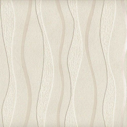Arthouse Wave Cream Blown Vinyl Texture Stripe Paintable Wallpaper 820903