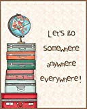 """Love st - Travel around the World / Travel quotes / Quirky Posters / Slay Posters for Home & Office 12x18"""""""