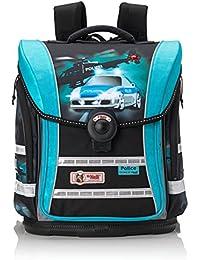 Mc Neill Schoolbag Set, black / blue (Multicolour) - 9607129000