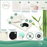 Nackenstützkissen Orthopädisch Belux | Schutzbezüge Aloe Vera - 3