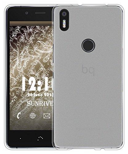 Für BQ Aquaris X5 Plus Hülle Silikon,Sunrive Handyhülle matt Schutzhülle Etui Case Backcover für BQ Aquaris X5 Plus(tpu Kein Bild)+Gratis Universal Eingabestift