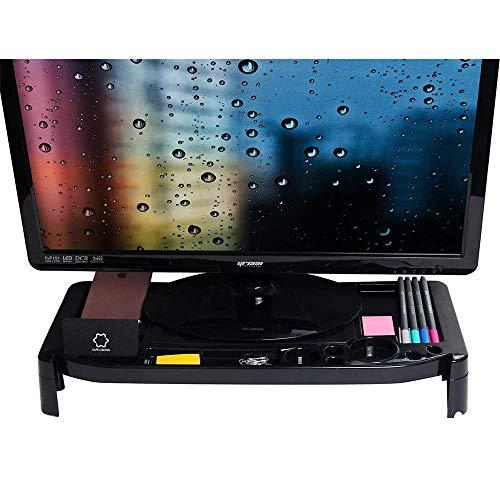 Monitorständer Cradle Desk Organizer mit Aufbewahrungsschlitzen. Gut für Zuhause, Büro, Kabine. Bleiben Sie organisiert und sparen Sie Platz. [20,7 x 9 x 2,9 Zoll] -