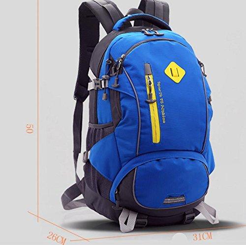 HCLHWYDHCLHWYD-Ambientazione esterna signora borsa a tracolla grande capienza sacchetto escursioni borsa sportiva 40L uomini bag , 1 1