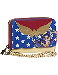 Karactermania DC Super Hero Girls Wonder Woman Monedero, 12 cm, Azul