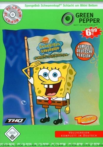 SpongeBob Schwammkopf: Schlacht um Bikini Bottom [Green Pepper] - Bottom Um Schlacht Bikini