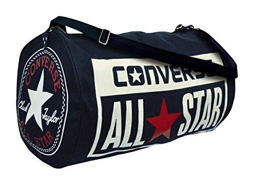 Converse Lagacy Barrel Duffel Bag Navy (Logo Body Cross)