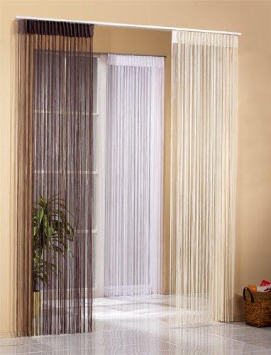 Home Fashion Vorhang, 245 x 150 cm, weiß, 245 x 150 cm
