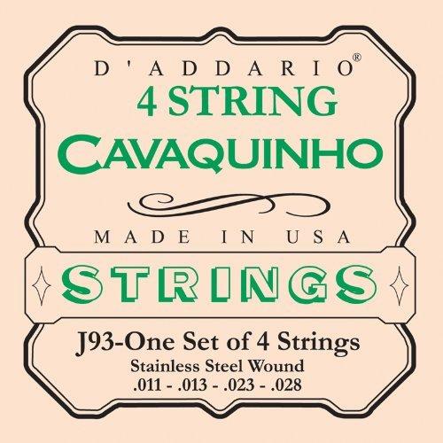D\'Addario J93 Saitensatz für Ukulele, Dulcimer, Tenor Gitarre, Oud Cavaquinho