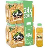 Volvic Juiced Orange Medley Juicy Water 12 Bottles 500 ml (Pack of 2, Total 24 Bottles)
