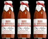 Pastasauce Sugo di Pomodoro Piccante (Arrabbiata) - 3x 480 ml