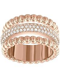 Swarovski Damen-Ring rhodiniert Kristall weiß Gr. 55 (17.5)-5124279