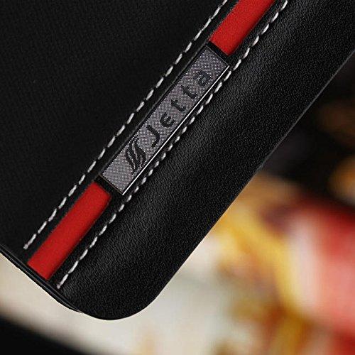 Wkae Case Cover Couleur mixte Cover Case, Folio Stand Case avec fente pour carte Housse en cuir PU pour iPhone 5 5s SE by DIEBELLEU ( Color : 2 , Size : Iphone5s Se ) 1