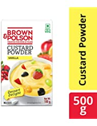 Brown & Polson Vanilla Custard Powder, 500g