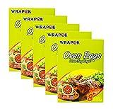 WRAPOK Bolsas Para Horno Bolsas Pollos Cocina La Carne De Turquía Carne Aves Corral Pescado Vegetal De Mariscos - 40 Bolsas (10 x 15 Pulgadas)