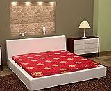 #6: Happy Life 4 Inch King Size Premium Quality Medium Foam Mattress ( Maroon, 75 X 72 X 4 inches)