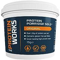 THE PROTEIN WORKS Protein Porridge Pot - 75 g, Berry