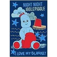 In the Night Garden NIGHT IGGLE PIGGLE' FLEECE BLANKET, Polyester, Multi-Colour, Full
