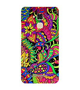 Fiobs Designer Back Case Cover for Asus Zenfone Max ZC550KL :: Asus Zenfone Max ZC550KL 2016 :: Asus Zenfone Max ZC550KL 6A076IN (Flowers Theme Floral Love Lovely Gift)