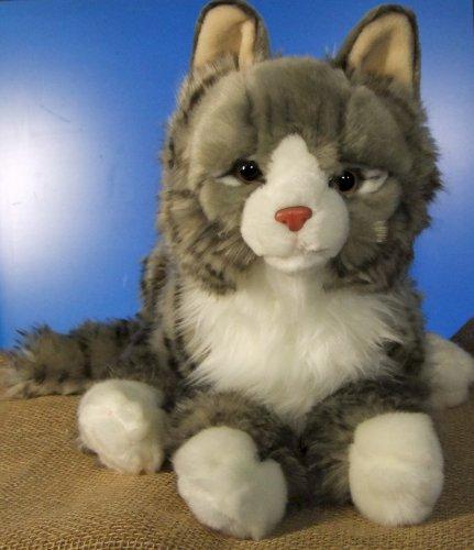 Maine Coon Norwegische Waldkatze Katze Plüschkatze Plüschtier 48 cm