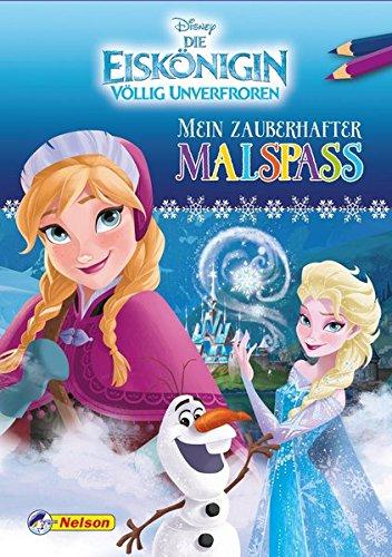 Disney Eiskönigin: Mein zauberhafter Malspaß
