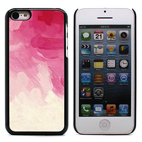 Graphic4You RED STRIPES Muster Harte Hülle Case Tasche Schutzhülle für Apple iPhone 5C Design #7
