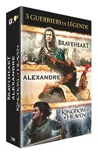 Guerriers de légende - Coffret 3 films : Alexandre + Braveheart + Kingdom of Heaven