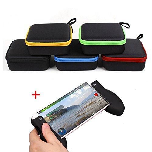 Togather Tragetasche für DJI Spark Mini Tragbare Tasche für Drohne und Zubehör Wasserdicht Kompakt Eva-Material Tragen Sie Ihr Drone mit maximalen Schutz + Controller Griffhalter Handgriff