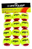 Dunlop Tennisball Mini Tennis Stage 3, Gelb/Rot, One Size