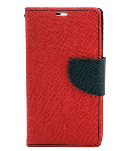 Evoque Mercury Flip Cover For Samsung Galaxy S5 G900 - Red  available at amazon for Rs.299
